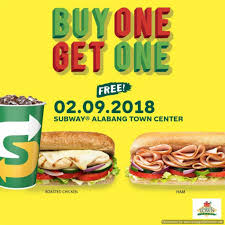 Subway Specials February 2018 / Online Wholesale Subway Singapore Guest Appreciation Day Buy 1 Get Free Promotion 2 Coupon Print Whosale Coupons Metro Sushi Deals San Diego Coupons On Phone Online Sale Dominos 1for1 Pizza And Other Promotions Aug 2019 Subway Usa Banners May 25 Off Quip Coupon Codes Top August Deals Redskins Joann Fabrics Text Canada December 2018 Michaels Naimo Deal Hungry Jacks Vouchers Valid Until Frugal Feeds Free 6 Sub With 30oz Drink Purchase Sign Up For