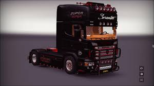 100 Truck Mods SCANIA R730 SARANTOS Mod For European Simulator Other
