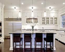 pendant lights bring antique touch modern white kitchen island nz