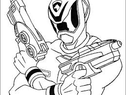Printable Coloring Pages Power Rangers