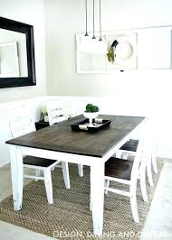 Farmhouse Table And Chairs Build A Dining Room Makeover