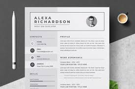 Resume/CV Design Template   MS Word ~ Cover Letter Templates ... 70 Welldesigned Resume Examples For Your Inspiration Piktochart 15 Design Ideas Ipirations Templateshowto Tutorial Professional Cv Template For Word And Pages Creative Etsy Best Selling Office Templates Cover Letter Application Advice 2019 Modern Femine By On Dribbble Editable Curriculum Vitae Layout Awesome Blue In Microsoft Silent How To Design Your Own Resume Ux Collective