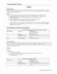 Mba Finance Fresher Resume Format Best Of Student Samples