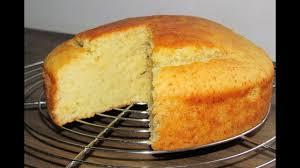 Eggless Vanilla cake Eggless sponge cake Cake without eggs