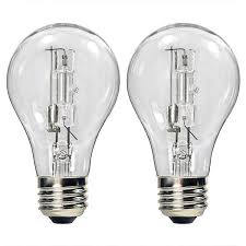 bulbrite 115052 53w a19 clear halogen 120v