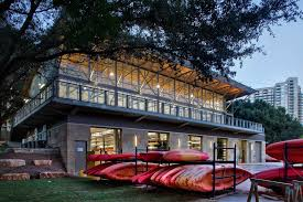 100 Lake Boat House Designs Waller Creek GSC Architects