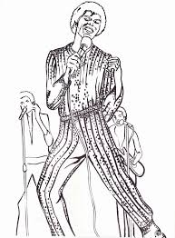 Michael Jackson Coloring Book Pages