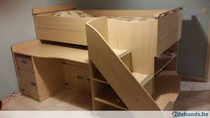 bureau gami half hoogslaper gami skipper met bureau en veel opbergruimte te