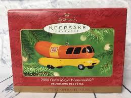 Hallmark Keepsake Christmas Ornament 2000 Oscar Mayer Wienermobile ...