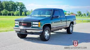 100 Sierra Trucks For Sale Davis AutoSports 1998 GMC Z71 Amazing Condition