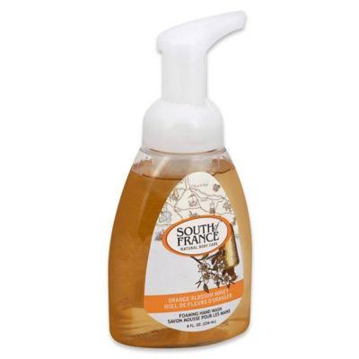 South of France Foaming Hand Wash - Orange Blossom Honey, 236ml