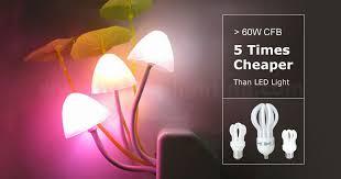 lotus flower compact fluorescent light bulb ningbo jinhui lighting