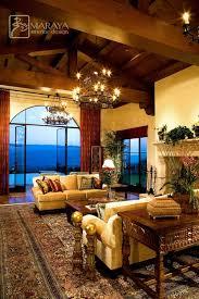 Houzz Photos 240325 Santa Barbara Open Beam Living Room Rustic