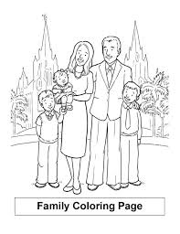 Holiday In London With My Family Colouring Page