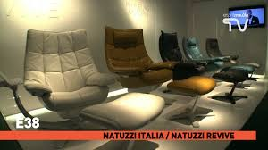 Natuzzi Editions Castello Sofa by Natuzzi Re Vive Quilted King Recliner Dark Grey Relax And