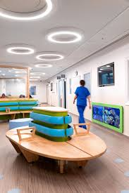 Bespoke Furniture Allows Easy Movement Through The Pediatric ...