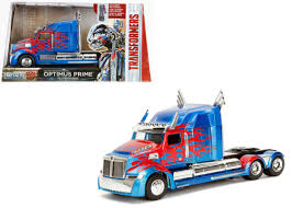 100 Optimus Prime Truck Model Western Star 5700 XE Phantom Transformers 5