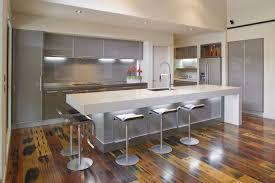 contemporary white gloss kitchen island design ideas come with