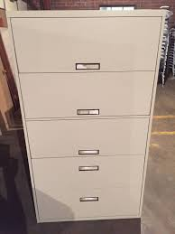 Hon 4 Drawer Lateral File Cabinet Used by Lateral Files Archives Welter Storage