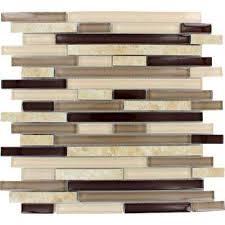 Backsplash Mosaic Tile Tile The Home Depot