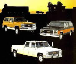 100 1989 Gmc Truck GMC TRUCK BROCHURE RV 2500 3500 BONUSCREW PICKUPSUBURBAN