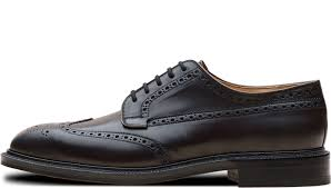 Classic Black Men Shoe Transparent PNG