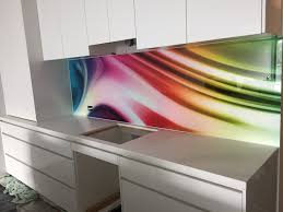 Custom Printed Glass Splashback By Seein