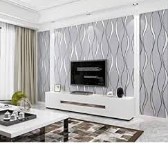vliestapete stereoskopischer streifen 3d hellgrau tapete esszimmer flur schlafzimmer wohnzimmer tv hintergrund dekoration