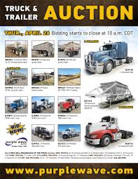 SOLD! April 26 Truck And Trailer Auction | PurpleWave, Inc.