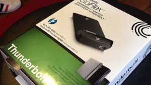 Seagate Goflex Desk Adapter Not Working by Seagate Goflex Thunderbolt Adapter Hands On U0026 Review Multiple
