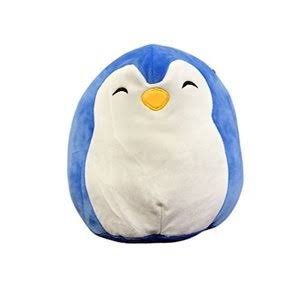 Kellytoy Squishmallow Penguin Super Soft Plush Toy - Blue, 9""