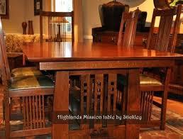 Craftsman Dining Room Plain Decoration Mission Style Set Sets Best Tables