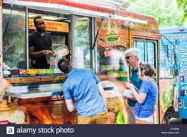 Food Service Trucks Stock Photos & Food Service Trucks Stock Images ...