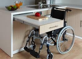 cuisine pour handicapé cuisine adaptée pmr avec modulhome