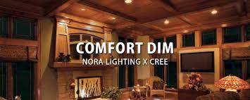 comfort dim from nora lighting cree at lbc lighting