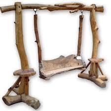 Teak Root Garden Swing