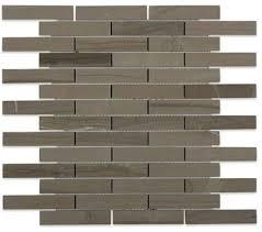 soho studio athens gray piano brick contemporary mosaic tile