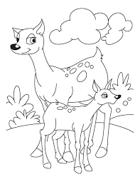 Full Size Of Coloring Pagefawn Pages Fawn Deer And 2 Page