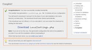 Cara Install Lamp Ubuntu 1404 by How To Install Mediawiki On Ubuntu 14 04 Digitalocean