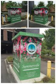 Town Of Summerville Parking Booth Wrap Makeover - Summerville Signs ...