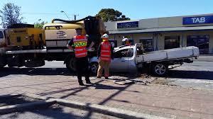 100 Police Truck Tab Car Crash Brighton Rd 10915 YouTube