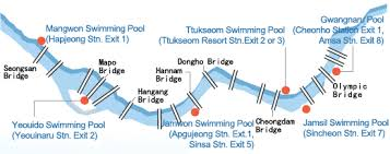 Seoul Outdoor Pools Map