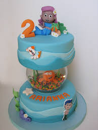 Bubble Guppies Cake Decorating Kit by Bubble Guppies Cake With Fishbowl For Gil Www Ihateveggies Ca