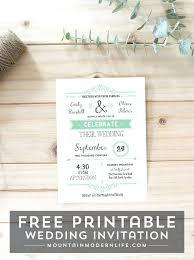 Free Rustic Wedding Invitation Templates 6429 Plus Printable Template Shower