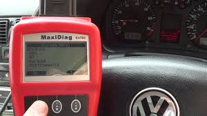 How I Reset My VW Airbag Light Golf Mk4 fault code