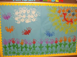 Kindergarten Spring Bulletin Board Idea
