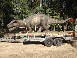 100 Dinosaur Truck Postosuchus Statue