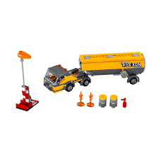 LEGO Split Lot - 76067 Tanker Truck & Wind Sock (NO MINIFIGURE) (NEW ...