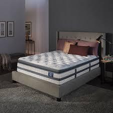 Serta Perfect Sleeper Air Mattress With Headboard by Serta Perfect Sleeper Luxury Hybrid Glenmoor Super Pillowtop Twin