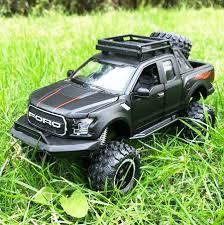 100 Toy Ford Trucks 132 Raptor F150 Pickup Truck Metal Alloy Pull Back Diecast